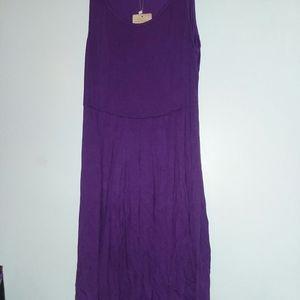 Women's Sleeveless Summer Sun Dress
